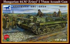 Bronco 35121 Hungarian 44.M Zrinyi I 75mm Assault Gun