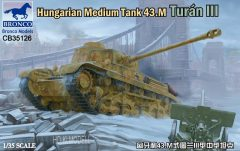 Bronco CB35126 Hungarian Medium Tank 43m Turan III