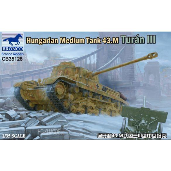 Bronco Models 35126  Hungarian Medium Tank 43m Turan III