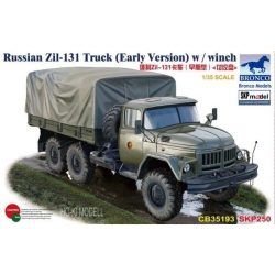 Bronco 35193  Russian Zil-131 Truck (Early Version)Csörlővel