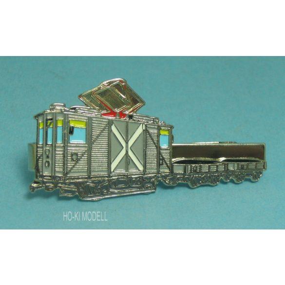 DOPS Models Villamosvasúti Motoros Fedett Teherkocsi (MUKI) BKV  Kitűző-Nyakkendőtű (Klipsz)