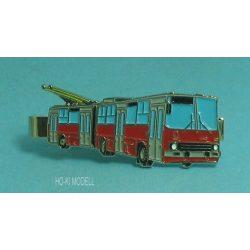 DOPS Models Ikarus 280T  BKV Trolibusz Kitűző-Nyakkendőtű (Klipsz)