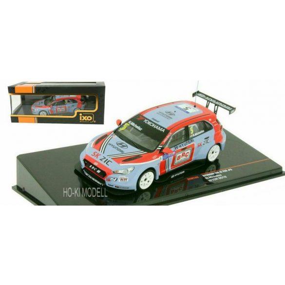 Ixo GTM144 Hyundai i30 N TCR WTCR 2018 - Michelisz  Norbert