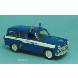 HK Modell Moszkvics 423N Rendőrség