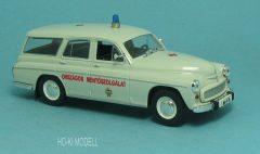 HK Modell Warszawa 203 Kombi Országos Mentőszolgálat