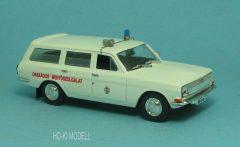 HK Modell Volga 2402 Kombi Országos Mentőszolgálat