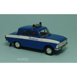 HK Modell Moszkvics 412  Rendőrség Magyar Rendőrség Hungarian Police