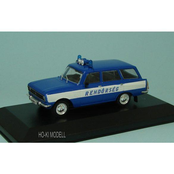 HK Modell Moszkvics 2137 Rendőrség Magyar Rendőrség Hungarian Police