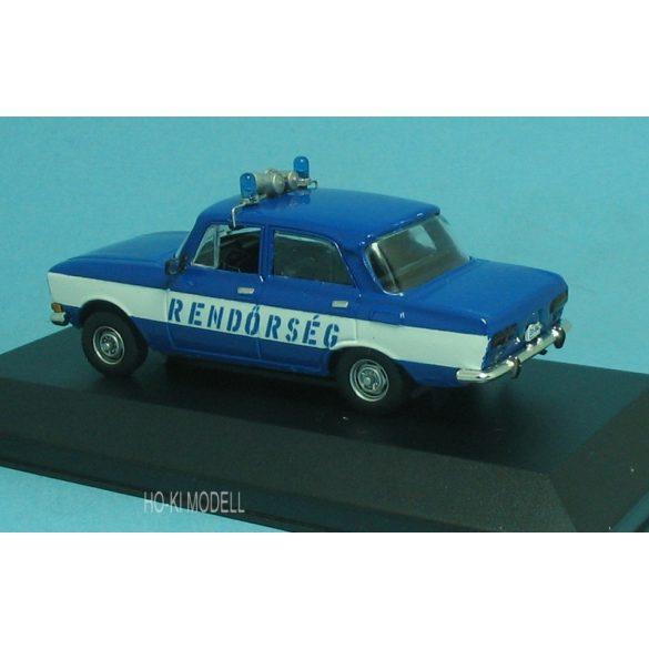 HK Modell Moszkvics 2140 Rendőrség Magyar Rendőrség Hungarian Police