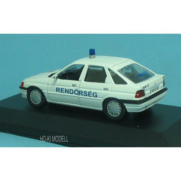 HK Modell Ford Escort Magyar Rendőrség