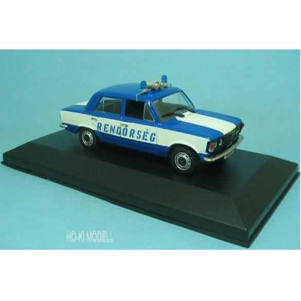 HK Modell Polski Fiat 125P Magyar Rendőrség -  Hungarian Police