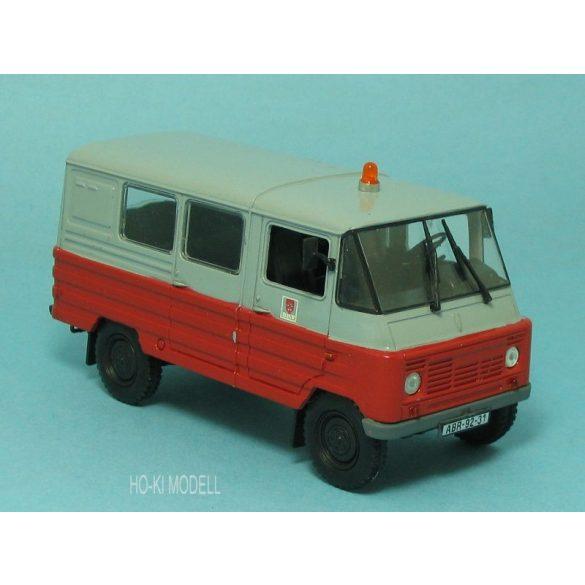 HK Modell ZUK  Kisteherautó BKV