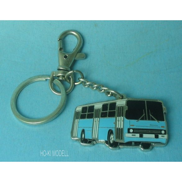 Ikarus 260 Karabineres Kulcstartó - Világos Kék