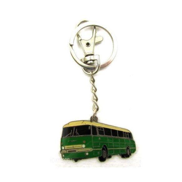 Ikarus 66 Karabineres Kulcstartó - Zöld