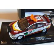 Ixo Models KB1048 Mitsubishi Lancer Evo X Rally Japan 2008 #00 Safety Car Hayashi/Myoshi