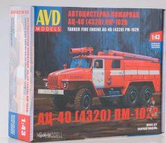 AVD Models KIT URAL 4320 AC-7.5-40 Tűzoltautó