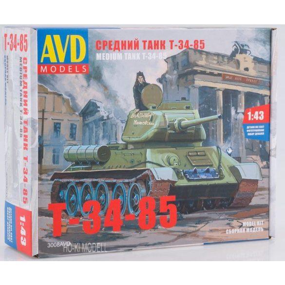AVD Models 3008 KIT  T-34/85 Tank
