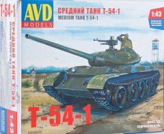 AVD Models KIT 3009 Medium Tank T-54-1
