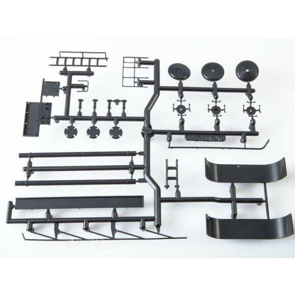 AVD Models 7066 KAMAZ-54112 Nyergesvontató Lisztszállító Trélerrel