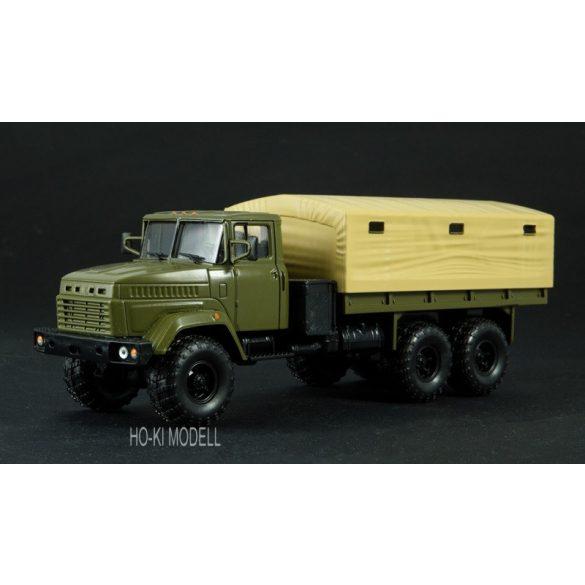 Legendary Trucks 022 KrAZ 6322 Platós Ponyvás Teherautó