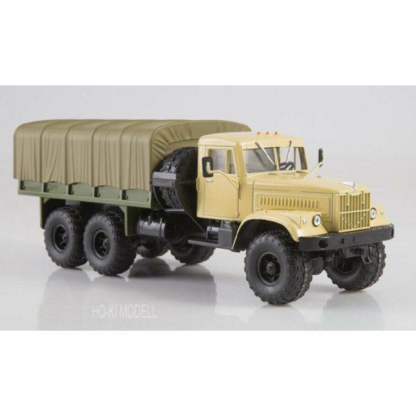 Legendary Trucks 034 KrAZ 255B1 Platós Ponyvás Teherautó