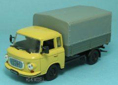 M Modell Barkas  B1000 platós-ponyvás kisteherautó