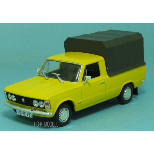 Dodatkowe M Modell Polski Fiat 125P Pick-Up - HO-KI Modell AN19
