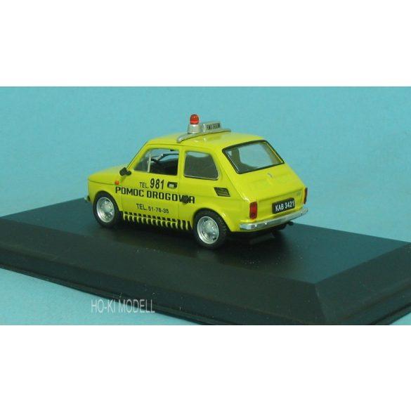 "M Modell Polski Fiat 126 P ""Pomoc Drogowa"""