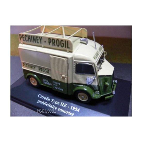 """M Modell - Eligor Citroen HY Pechiney Progil """"publicitaire sonorisé"""" - 1954"""