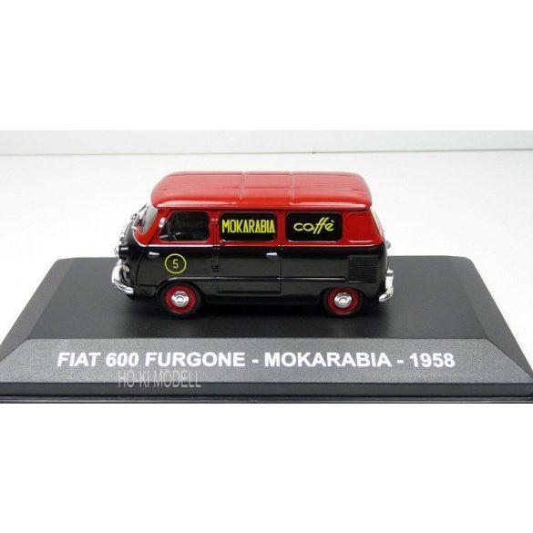 M Modell Fiat 600 Furgone - Mokarabia -1958