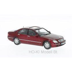 Ixo MOC106 Mercedes S500 metallic-dunkelrot 2000  (W220)