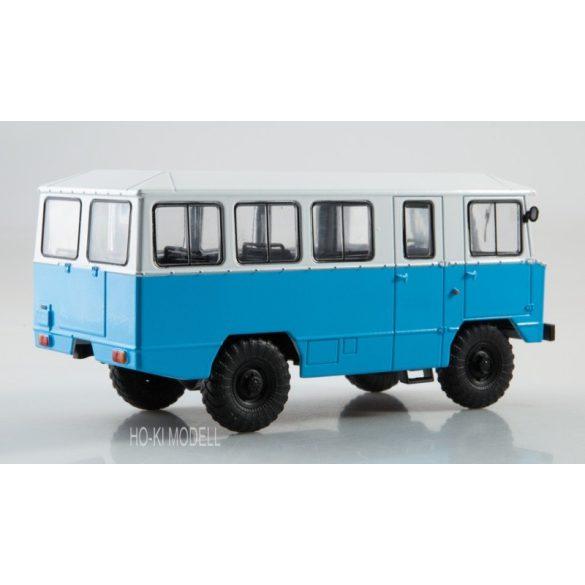 Bus magazine APP-66 4x4 Militar (GAZ-66) Autóbusz