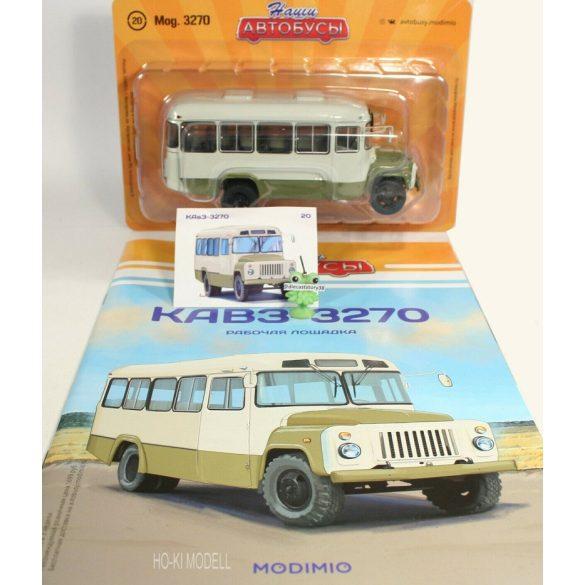 Bus magazine  KAVZ 3270 Autóbusz