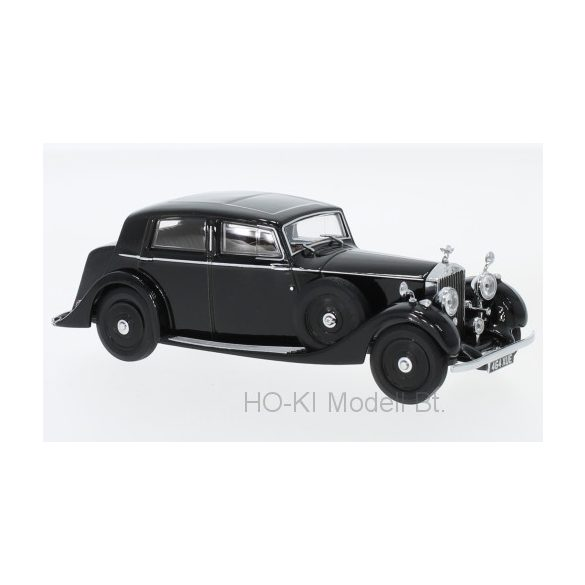 Oxford R25003 Rolls Royce 25/30 Thrupp & Maberly, fekete