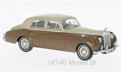 Oxford Rolls Royce Silver Cloud I, metallic-beige/braun