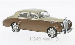 Oxford RSC001 Rolls Royce Silver Cloud I, metallic-beige/braun