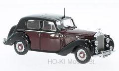 Oxford Rolls Royce Silver Dawn,dark red/black