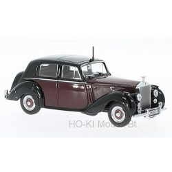 Oxford RSD001 Rolls Royce Silver Dawn,dark red/black