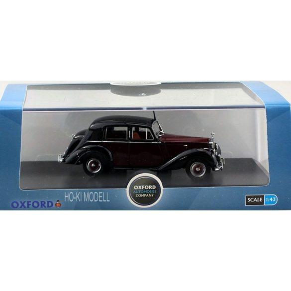 Oxford RSD001 Rolls Royce Silver Dawn,dark red/black
