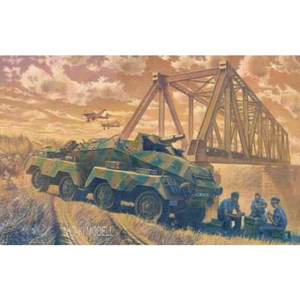 Roden 706 German Sd.Kfz. 233 Stummel - Schwerer Panzerkanonenwagon