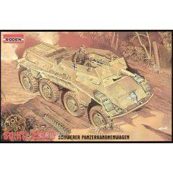 Roden  WWII German Sd.Kfz. 234/3 Armored Car (8-Rad)  Schwerer Panzerkanonenwagen