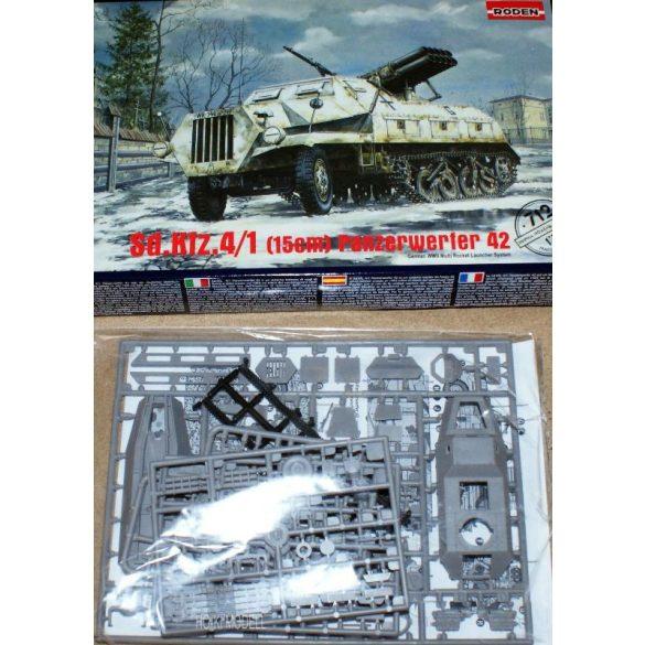 Roden 712 Sd.Kfz. 4/1 (15cm) Panzerwerfer 42