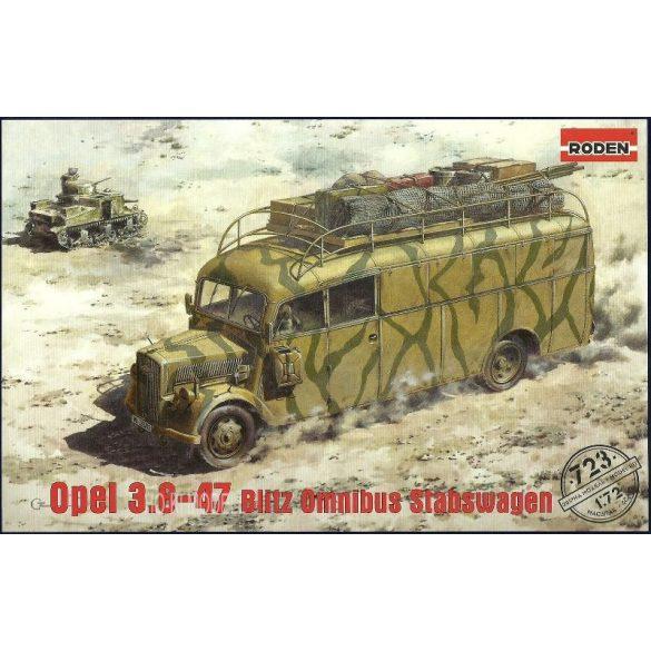Roden 723  Opel 3.6-47 Blitz Omnibus Stabswagen German headquarters WWII