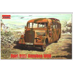 Roden 726 Opel Blitz Omnibus W39 (Late WWII service)1939-1943