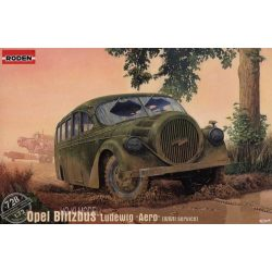 "Roden 728  Opel Blitzbus Ludewig ""Aero"" (WWII service) German bus"