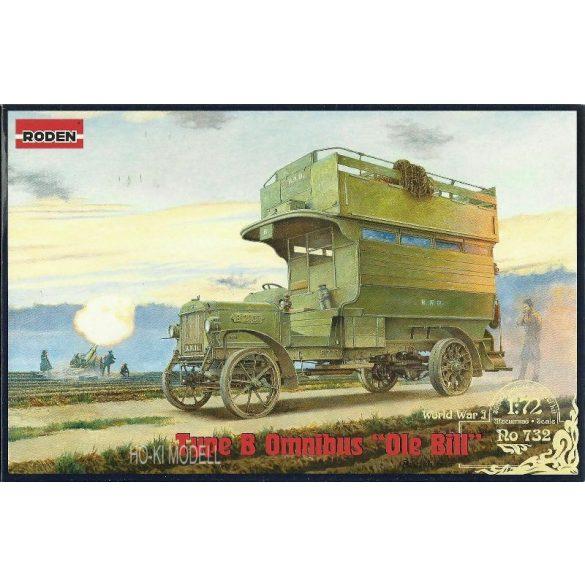 """Roden 732 Type B Omnibus """"Ole Bill"""" WWI"""