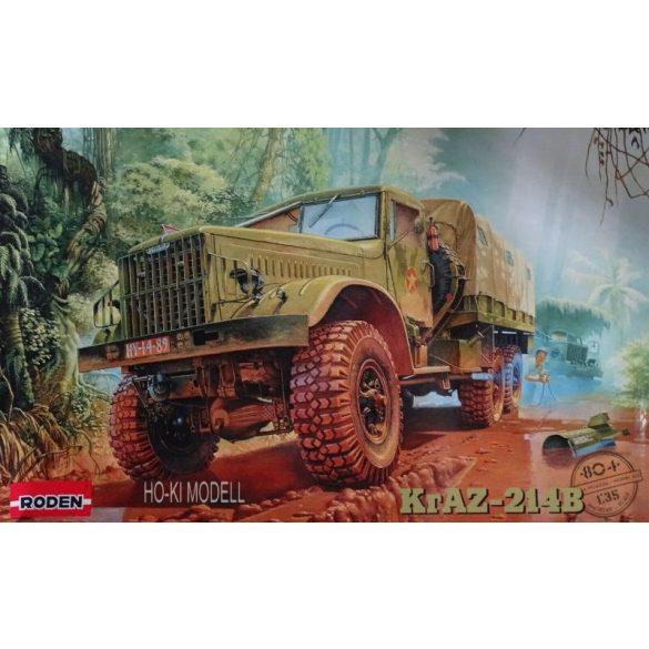 Roden 804  KrAZ-214B Soviet Heavy Truck
