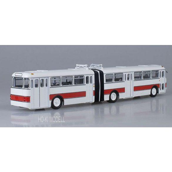 Sovetskij Avtobus Ikarus 180 Csuklós Autóbusz - Fehér/Piros