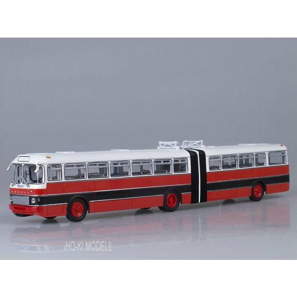 Sovetskij Avtobus Ikarus 180 Csuklós Autóbusz - Fehér/Piros/Fekete