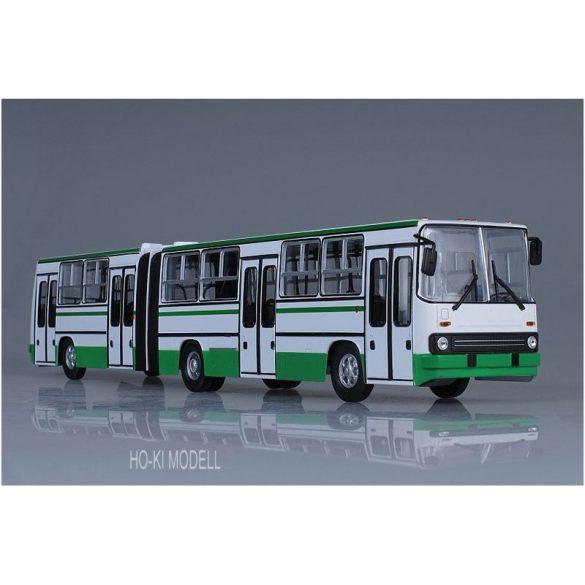 Sovetskij Avtobus Ikarus 280.64 Bolygóajtós Csuklós Autóbusz - Fehér/Zöld